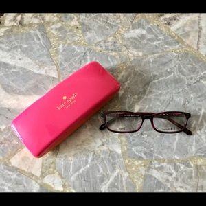 Kate Spade Agneta Eyeglasses-01G4 Pink Havana